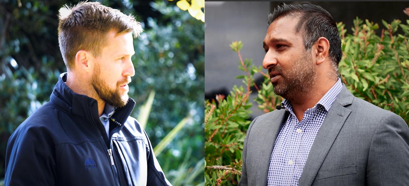 Mitch Palmer and Naveen Nadesan