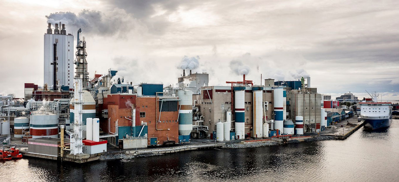 Husum board and pulp mill